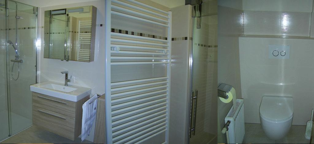 Badezimmer und WC-Sanierung [Familie Aigner, Stockerau]