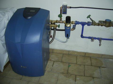 Dr.Schützner Ravelsbach, BWT Aqua Perla Entkalkungsanlage und Grander Belebung für Küche und Trinkwasser