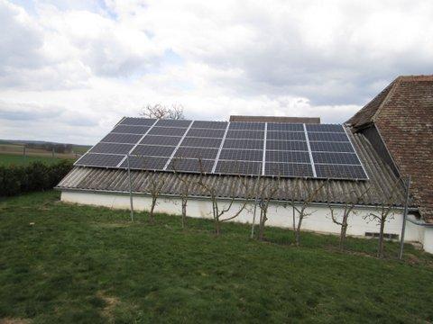 Photovoltaikanlage Jungmayr Ebersbrunn 20 kWp Leistung